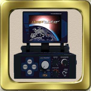 جهاز Deep Hunter Pro بالنظام التصويري لكشف المعادن والفراغات