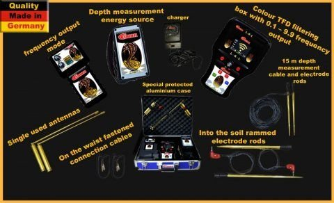 اجهزة كشف الذهب الخام كونكورد كوبرا الالماني 00201128945455