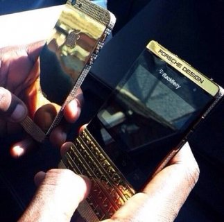 iPhone 5s Gold / Bb porsche p'9981 and Vip pin: 500$ usd