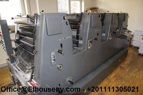 هايدلبرغ 4 لون أوفست GTOVP-52