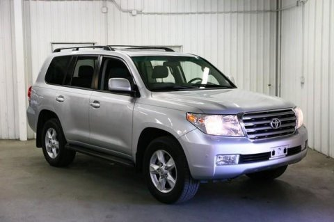 2011 Toyota Land Cruiser Silver colour
