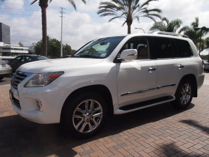 Used 2013 Lexus Lx570 (Gcc Specs) For Sale