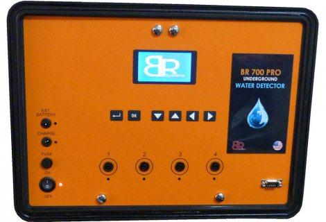 اجهزة كشف المياه الجوفيه والابار BR 700 _ PRO