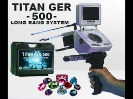 جهاز البحث عن الماس تيتان 500