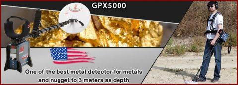للبيع جهاز جي بي اكس 5000 لكشف الذهب والمعادن الثمينة منشركة مملكة الاكتشاف