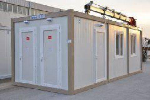 حاويات صحية – مراحيض وحمامات