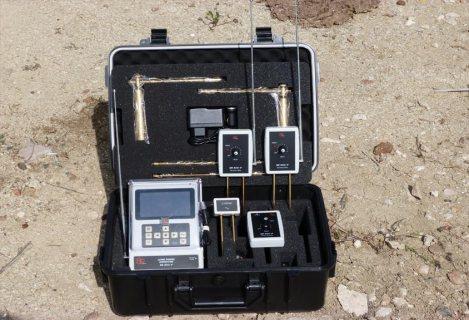 جهاز BR 800 P الأفضل لكشف الذهب والكنوز لعمق 50 متر , والمياة الجوفية لعمق 200 م