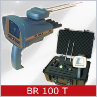 BR 100 T جهاز الكشف عن الذهب الخام والمصنع والكنوز لعمق 20 متر , دائري 1000 متر
