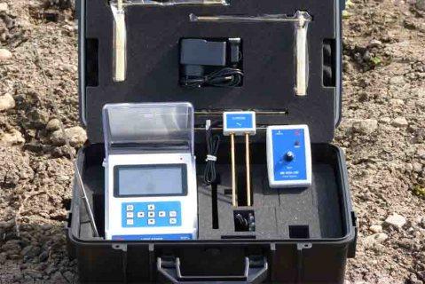 جهاز BR 500 GW لكشف المياة الجوفية ومعرفة نوع المياة المكتشفة لعمق 500 متر