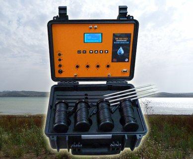 جهاز BR 700 PRO لكشف الْمِيَاهَ الْجَوْفِيَّةَ وتحديد نوع المياة لعمق 700 متر