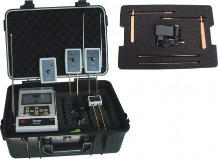 جهاز BR 800 P كاشف الذهب الخام وجميع المعادن لعمق 50 متر ,, مدى دائري 2000 متر.