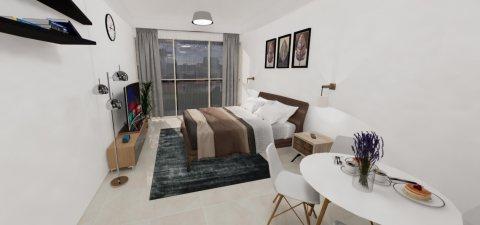 تملك شقة غرفة وصالة في عجمان ب45000جنيه بالتقسيط على 8 سنوات سوداني